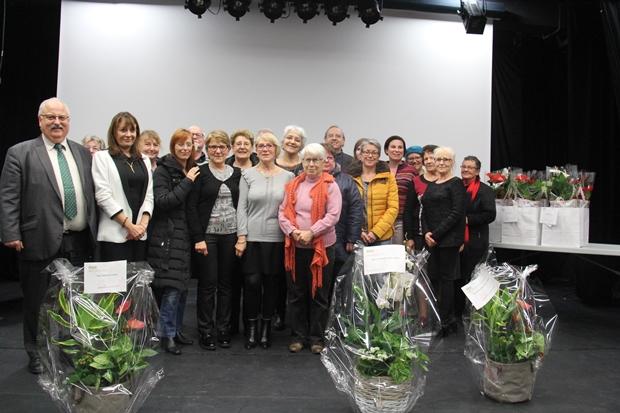 Les gagnants du concours des balcons et jardins fleuris 2017