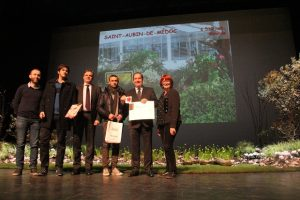 Label 2 fleurs décerné à Saint Aubin de Médoc
