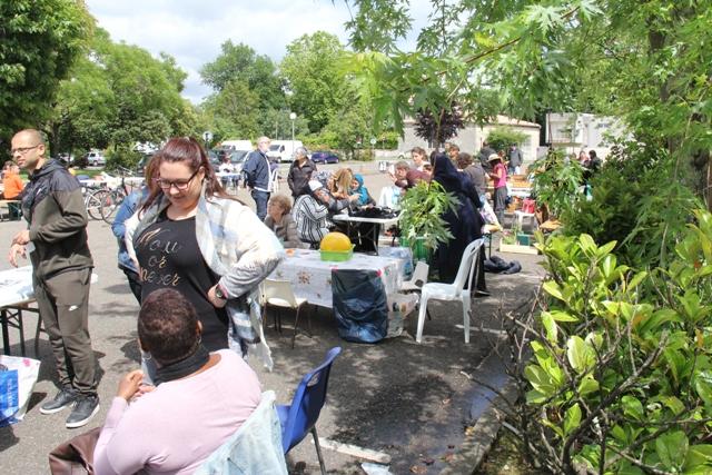 Un café citoyen organisé avec de nombreux partenaires lors de la première édition de FAIS TON PALMER en mai 2017