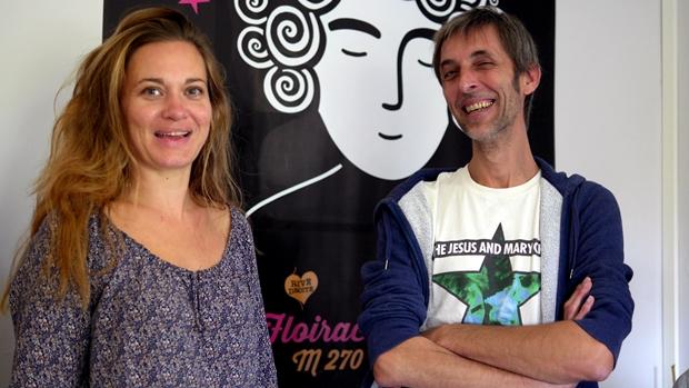 Grangetas Dall'osso/Médiatrice culturelle/ Passage à l'art –Regard 9 et Éric Audebert, directeur artistique de Regard 9