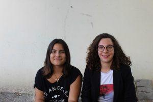 Héléna et Laura: deux des Cenonnais.e.s qui ont expérimenté la Coopérative Jeunesse Services