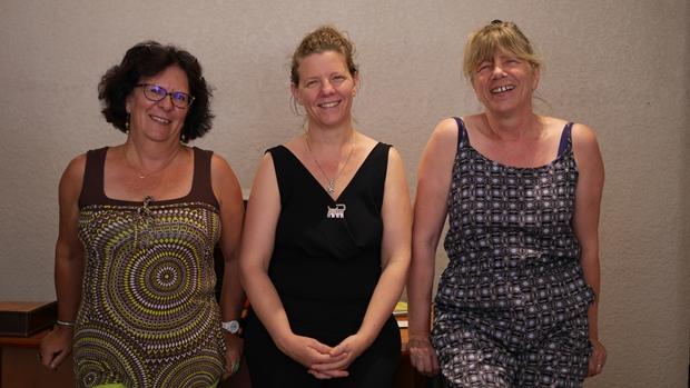 Corinne, Anne-Lise, Nelly: la petite mais efficace équipe de l'Office culturel et d'Animation de Cenon (OCAC)