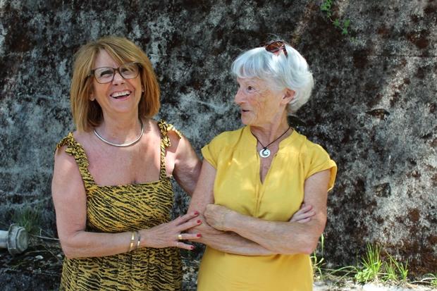 Monique Chazaud et Marlène Vachet, conseillères citoyennes du bas Cenon