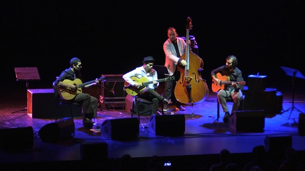 Tout au long du festival Toutes Latitudes, des concerts en soirée, au Rocher de Palmer : Bilal Karaman d'Istanbul et son swing manouche
