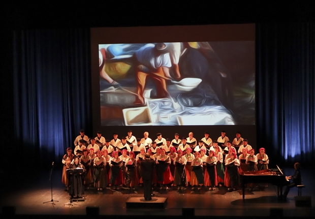 La chorale Salvé de Laredo redonne vie aux zarzuelas