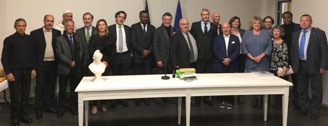 ... ont signé une convention de partenariat économique avec la CCI Bordeaux Gironde et Cenon