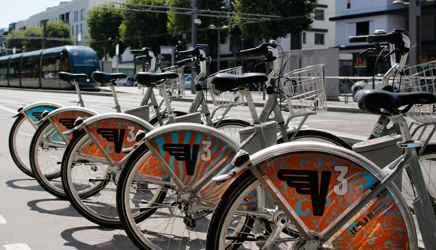 A vélo à Cenon