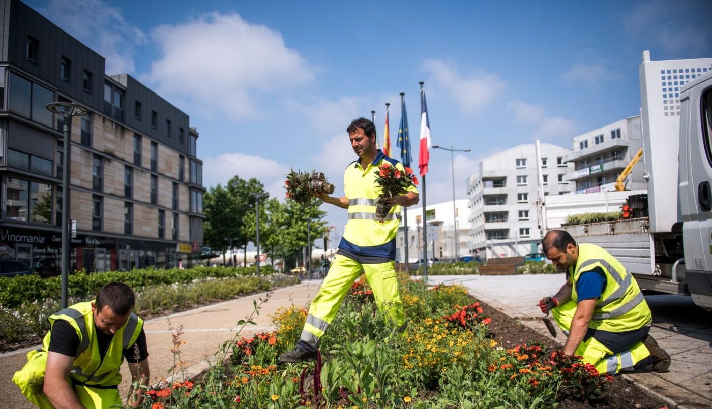 Cenon, labellisée ville fleurie