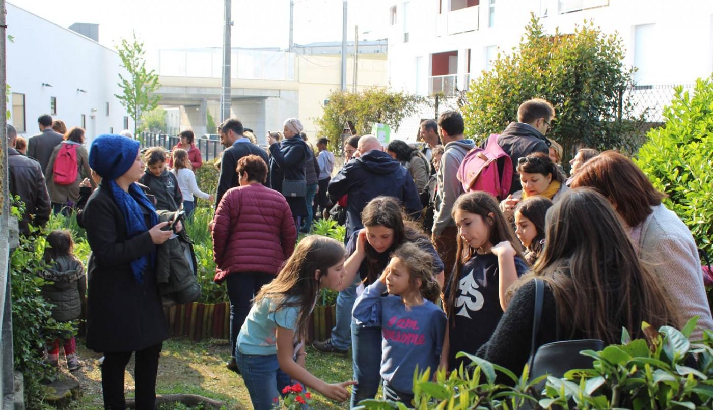 A l'école Camille Maumey, tricotage et jardinage participent aux apprentissages