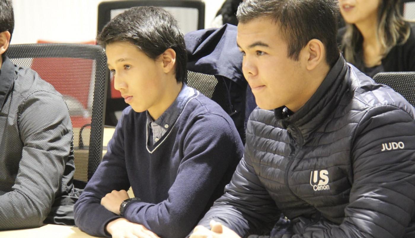 La médaille de la ville pour 2 jeunes et brillants judokas de la section Judo de l'US Cenon