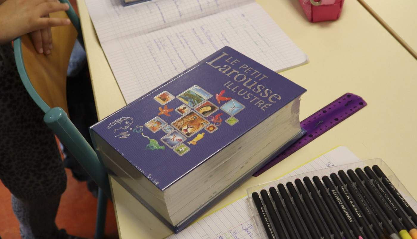 dictionnaire en photo