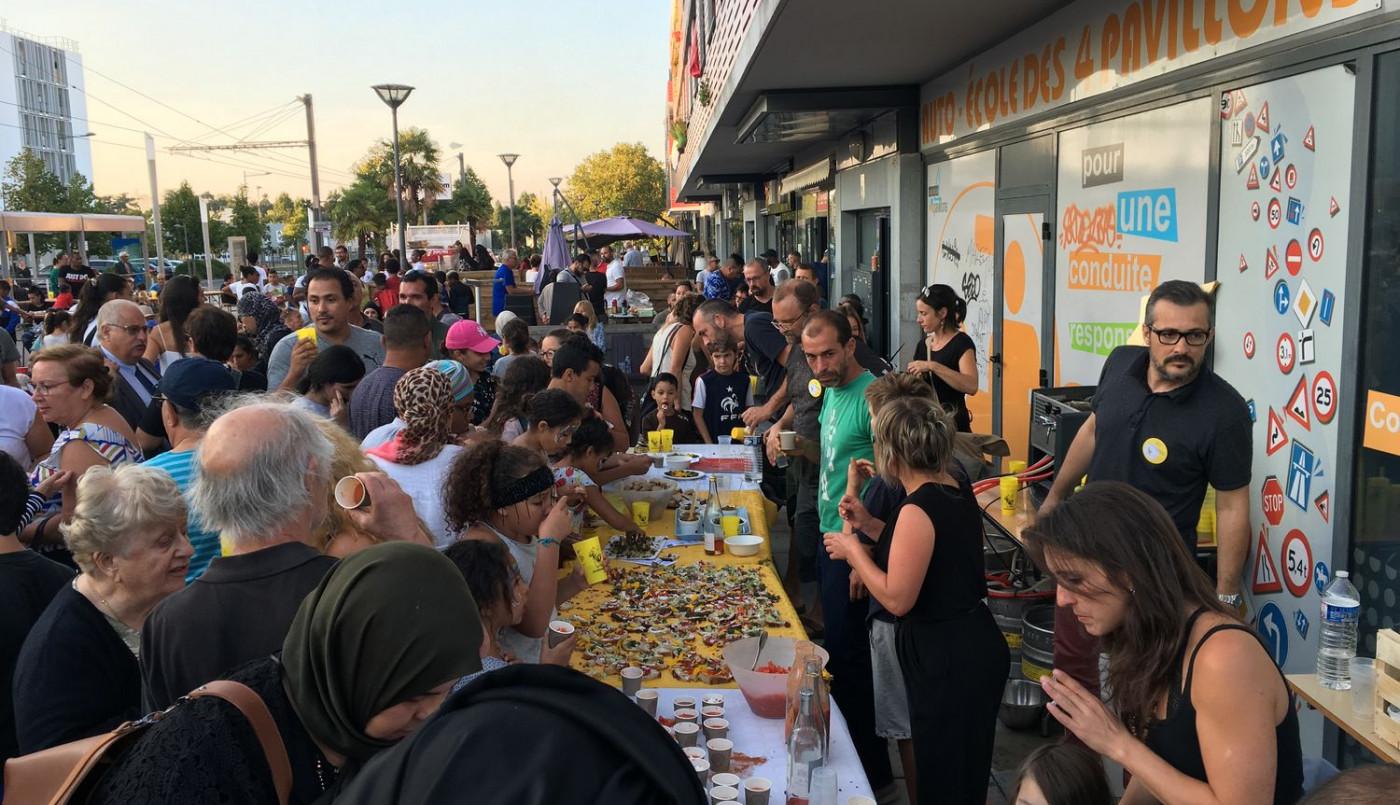 Toutes les générations - et le soleil - font la fête à la Marègue