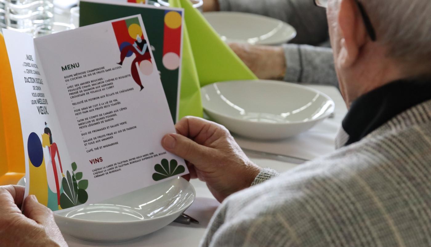 Janvier : le repas des aînés