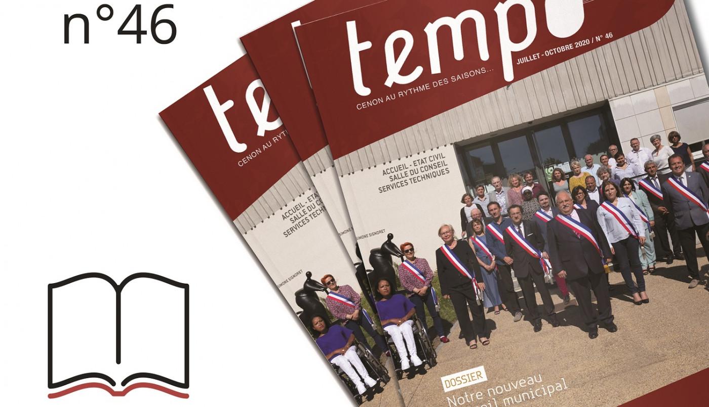 """Tempo 46 : """"Notre nouveau conseil municipal 2020 - 2026"""""""