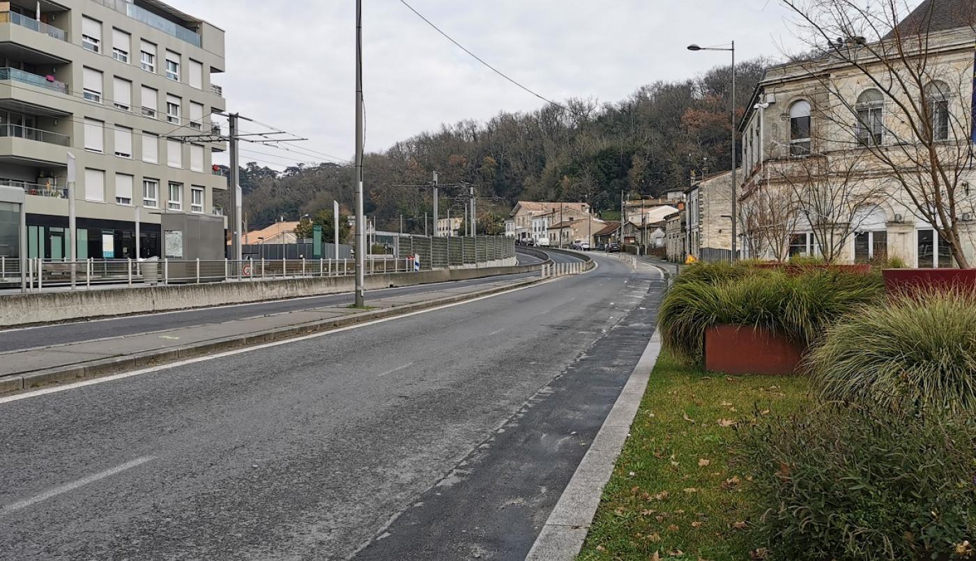 Une voie verte côte des 4 pavillons : les travaux débutent