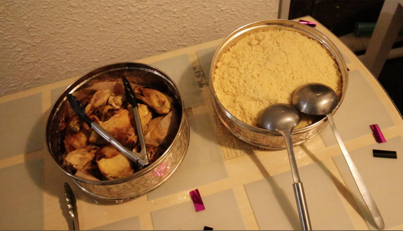 Le repas de Watteau, avant relogement...