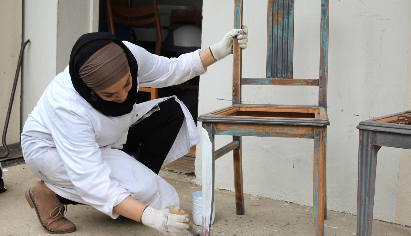Carrefour des cultures : L'art de la récup' en soutien à la solidarité